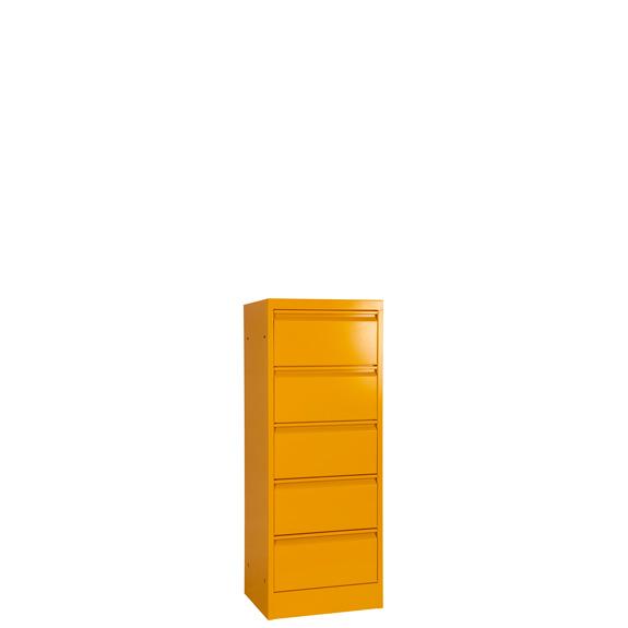 Armoire Clapets Monobloc Jaune 5 Portes