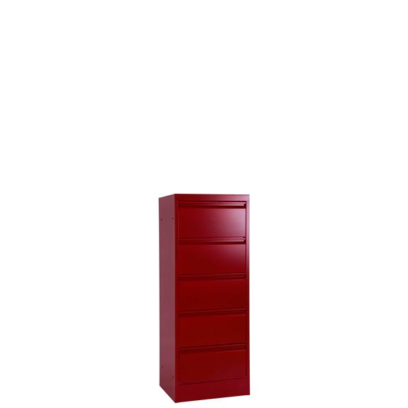 Armoire Clapets Monobloc Rouge 5 Portes