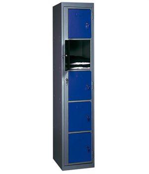 Armoire Visitable de Distributeur Linge Monobloc 5 Portes