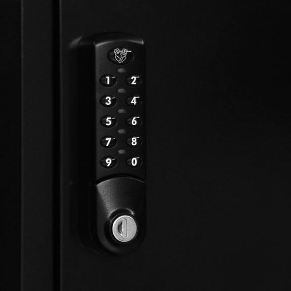 Serrure Digitale à codes électronique et clé passe