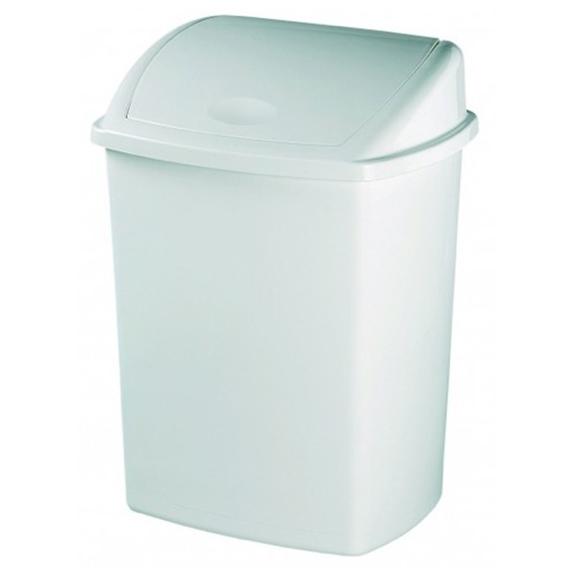 Poubelle Plastique Blanc