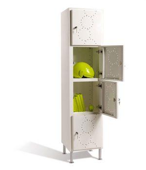 Vestiaire Multicases Arko Design blanche