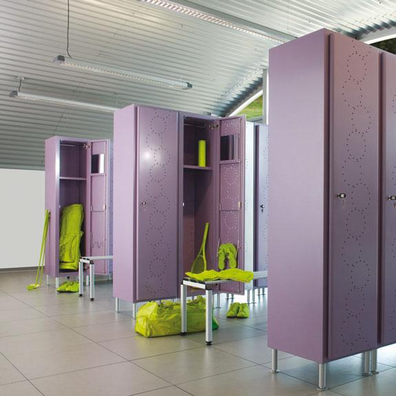 Vestiaire Industrie Arko Design Insitu