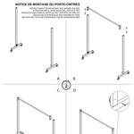 Notice de Montage du Porte-Cintres