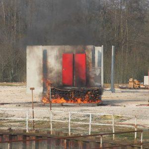 Prototype Navimo test au feu 2