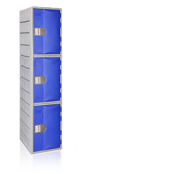 Vestiaire 3 Cases TOPPehd hauteur 1800