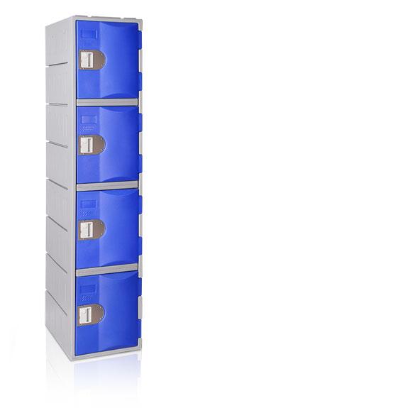Vestiaire 4 Cases TOPPehd hauteur 1800