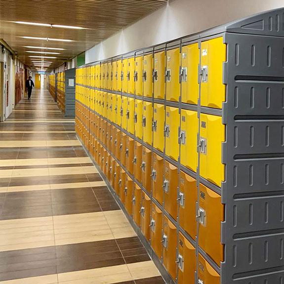 Casiers TOP 460 pour Lycée