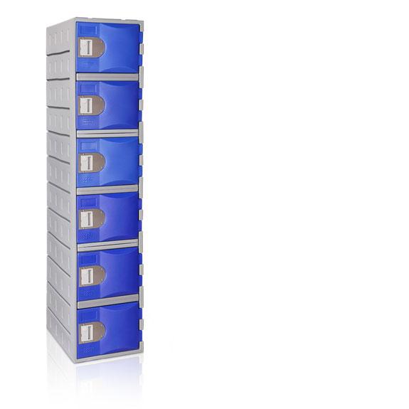 Vestiaire 6 Cases TOPPehd hauteur 1800