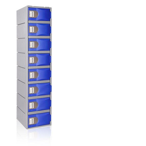 Vestiaire 8 Cases TOPPehd hauteur 1800